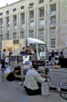 Palermo (palazzo di giustizia) - La troupe sul set del nuovo film sulla vita di Giovanni Falcone (No