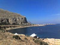 Sferracavallo (PA) - Panorama sul mare da Capo Marconi (27 ago 2005) XVII  - Sferracavallo (5994 clic)