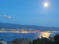 Lo stretto... di notte  - Ganzirri (7401 clic)