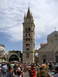 Il campanile del duomo Unico  - Messina (3690 clic)