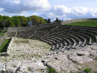 Teatro greco  - Palazzolo acreide (6578 clic)