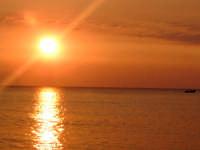 Tramonto sul mare di Terrasini  - Terrasini (12169 clic)