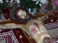 SS. Crocifisso custodito nella  Chiesa di S. Matteo, (così denominata in onore di Matteo Scammacca) detta anche del Purgatorio, fu edificata tra il 1676 e il 1690  e si trova sul corso principale  - Lercara friddi (4519 clic)