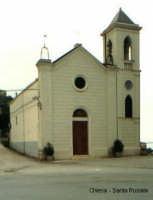 CHIESA DI SANTA ROSALIA. la Chiesetta di S. Rosalia sorta fuori il centro abitato nel sec. XVIII. T