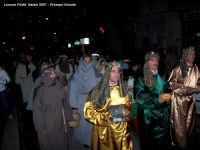 Natale 2007 - Il Presepe Vivente interpretato dagli amici dell'Associazione Heracles. Un'altra fase della rappresentazione.  - Lercara friddi (1705 clic)