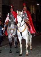 21 Marzo 2010 Via Crucis:Centurioni romani a cavallo. zona: Corso Giulio Sartorio.  - Lercara friddi (8534 clic)