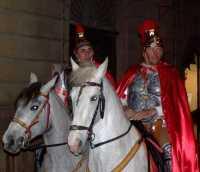 21 Marzo 2010 Via Crucis:Centurioni romani a cavallo. zona: Corso Giulio Sartorio.  - Lercara friddi (7211 clic)