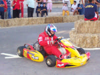 Un altro momento della gara dei Go-Kart, un nostro amico, Roberto Lino.  - Lercara friddi (4805 clic)