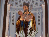 Altro Particolare della Statua di San Giuseppe, all'interno dell'altare principale della Chiesa di San Giuseppe.  - Lercara friddi (5220 clic)