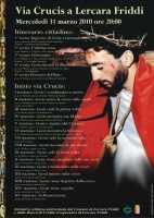 31 marzo 2010: Il Manifesto della via Crucis a Lercara Friddi.  - Lercara friddi (6077 clic)