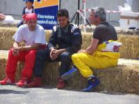 Go-Kart, un momento di pausa...per fare i conti con i Tempi....il vice Sindaco Gargagliano (a destra) ed altri due amici, i Vincitori della Gara Farruggia e Lino.  - Lercara friddi (3107 clic)