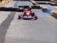 Go-Kart, un momento della gara a tempo.  - Lercara friddi (2881 clic)