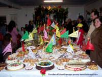 Una delle tavolate di San Giuseppe. (Associazione Culturale Relax, edizione 2007)  - Lercara friddi (5996 clic)