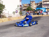 Go-Kart , un altro partecipante alla gara a tempo...Claudio Motta dell'associazione Kartisti Lercaresi.  - Lercara friddi (2977 clic)