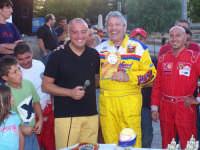 Uno dei momenti della Premiazione dopo le gare dei Kart...L'assessore allo Sport Michele Garofalo ed l'appassionato Vice Sindaco Gargagliano Marcantonio.  - Lercara friddi (3415 clic)