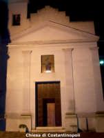 La Chiesa di Costantinopoli in una veduta serale. Anno 2007.  - Lercara friddi (3123 clic)