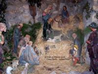 Chiesa Madre Maria SS.della Neve in Piazza Duomo. Presepe d'Arte in un altro suggestivo angolo della Cripta.  - Lercara friddi (2234 clic)