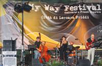 L'inimitabile voce di Ada Montellanico al My Way Festival dedicato a Frank Sinata, in un momento del suo concerto. Agosto 2008.  - Lercara friddi (5105 clic)