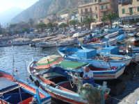 Barche e pescatori  - Mondello (4066 clic)