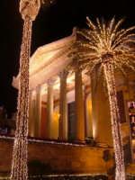 Natale a Palermo: Teatro Massimo  - Palermo (2573 clic)