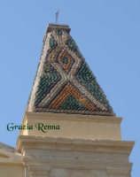 Particolare del campanile chiesa di S.Giovanni (XVII secolo)  - Villafranca sicula (2985 clic)
