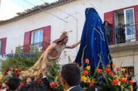 La domenica di Pasqua: inchino di Gesù alla Madonna  - Villafranca sicula (5400 clic)