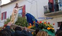 La domenica di Pasqua: inchino della Madonna a Gesù  - Villafranca sicula (4429 clic)