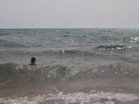 Una spiaggia...licatese la rocca mare agitato  - Licata (2128 clic)