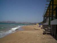 una giornata al mare...veduta della spiaggia il pisciotto  - Licata (2039 clic)
