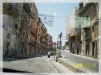 Tra via mare...salita santamaria  - Licata (2000 clic)