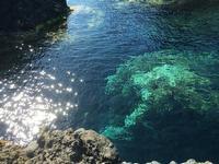 mare stupendo Isola di Ustica (Palermo) località conosciuta come la piscina USTICA PINA LETIZIA