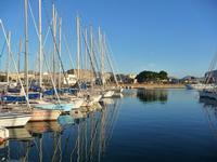 barche riflesse Palermo, porto turistico  PALERMO PINA LETIZIA
