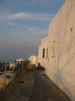 scorcio dell'abitato di Fico Grande al tramonto(Stromboli)   - Stromboli (4107 clic)