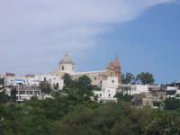 Centro abitato di Stromboli visto da Fico Grande (Stromboli)  - Stromboli (4302 clic)