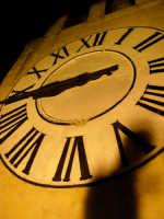 L'orologio della torre del castello.  - Modica (2779 clic)