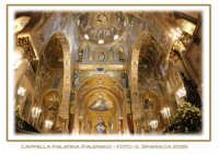 Interno della Cappella Palatina (Palazzo dei Normanni)  - Palermo PALERMO Gianvincenzo Sparacia