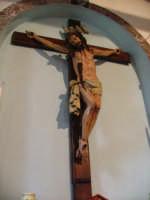 Crocifisso ligneo nella chiesa di Nociazzi attribuito a Padre Umile di Petralia  - Castellana sicula (3958 clic)