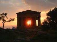 tramonto ad agrigento  - Agrigento (6220 clic)