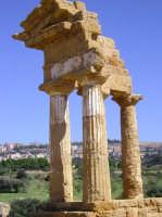 Tempio di Castore e Polluce  - Valle dei templi (4029 clic)