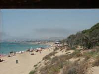 La spiaggia delle dune vista dal Chiosco di Pardo  - Agrigento (5695 clic)