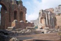 particolare del Teatro greco di Taormina  - Taormina (4640 clic)