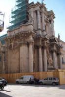 Lavori di restauro al Duomo di Siracusa (splendida rappresentanza del barocco nell'isola  - Siracusa (6290 clic)
