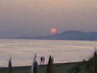 Lungomare - tramonto dal copacabana  - Gela (6984 clic)