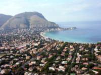 veduta del golfo di Mondello da monte Pellegrino  - Palermo (2278 clic)