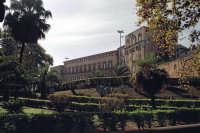 Palazzo dei Normanni visto attraverso Villa Bonanno PALERMO Salvatore Riva