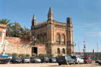 Particolare edificio detto i quatrro pizzi della tonnara Florio all'Arenella PALERMO Salvatore Riv