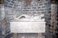 tomba nella cripta della cattedrale. PALERMO Salvatore Riva