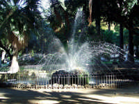 Villa Garibaldi. fontana PALERMO Salvatore Riva