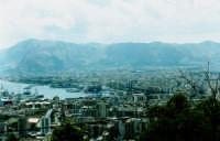 veduta del porto di Palermo da monte pellegrino PALERMO Salvatore Riva