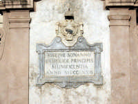 Misilmeri. Fontana del 700 in piazza Guastella (particolare)  - Misilmeri (4518 clic)